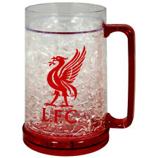 LIVERPOOL FC FREEZER MUG TANKARD ICE COLD BEER DRINKING GLASS NEW XMAS GIFT