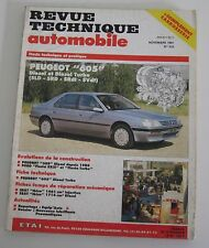 Revue technique  RTA 533 Peugeot 605 diesel & diesel turbo SLD SRD SRdt SVdt