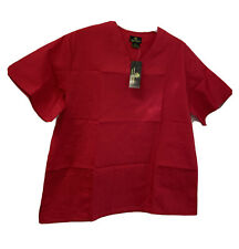 Natural Uniforms 2 Piece Scrub Includes Bottom And Top Red Size Medium Nwt