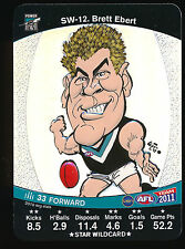 2011 Teamcoach Star Wildcard Brett Ebert Port Adelaide Team Coach wild card