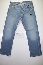 levi's 501 (Cod. M1512) tg50 W36 L32  jeans usato vintage customized