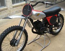 Honda 1975 CR125M full decal sticker kit AHRMA CR125 works bike CR 125 Vintage
