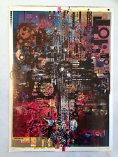 Kid606 Cex Soundboy Yakuza Tour Lexaunculpt #d Lithograph print poster 13x18 IDM