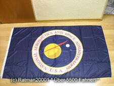 Fahnen Flagge NASA USA National Aeronautics Digitaldruck - 90 x 150 cm