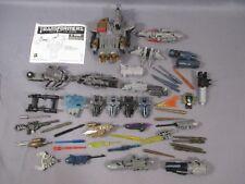 Transformers Movie ACCESSORY & PARTS Lot Ironhode Starscream Optimus Prime