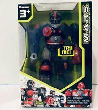 "MARS Motorized Attack Robo Squad Cybotronix XSS 7"" Walking Robot - New"