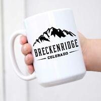 Breckenridge Coffee Mug Breckenridge Colorado Novelty Ceramic Tea Cup