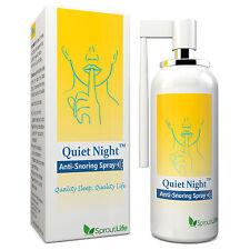 Quiet Night Anti Snoring Oral Spray, Essential Oil, Good Taste, Stop Snore 50ml