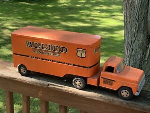 1964 Tonka Allied Van Lines Moving Truck All Original