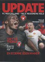 Orig.PRG    Europa League  2015/16  FC MIDTJYLLAND - MANCHESTER UNITED ! B  !!