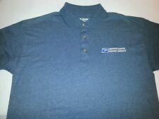 USPS Embroidered Polo Shirt S-3XL Charcoal Heather Gray 50/50 USPS2 SHIRT