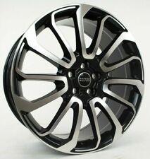 22 Range Rover Autobiography Wheels Hse Sport Land Rover Machine Black Rims