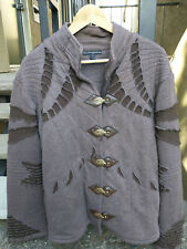 Phoenix Rising Artists Men's Jacket Large Burning Man Steampunk MSRP $225