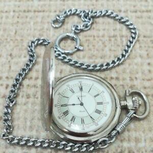 TISSOT pocket watch analog silver
