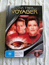 STAR TREK- VOYAGER - SEASON 1 – DVD, 5-DISC BOX SET  R-4, LIKE NEW FREE POST