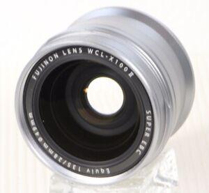 Fujifilm WCL-X100II Lens Silver Mint