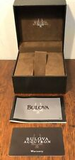 New BULOVA ACCUTRON Watch Box