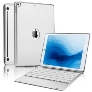"""iPad 6th 5th Gen 9.7"""" Air 2 3 10.2"""" 8th 7th Keyboard Cover Hard Protective shell"""
