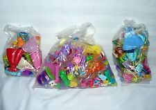 LOT SET OF 3 POLLY POCKET AND DISNEY PRINCESS BAGS OF ITEMS
