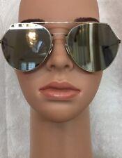 4a869c1f044 Fendi Mirrored Sunglasses Silver Frame Black Arms Flat Lens