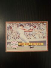 1962 Topps World Series Maris Wins It In The 9th #234 Roger Maris Yankees Nice!