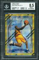 1996-97 Topps Finest Gold Refractor w/Coating Kobe Bryant Rookie RC BGS 8.5 Rare