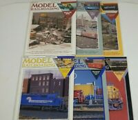 Model Railroading Magazine Lot Of 6 1992