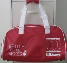 BATTLE OF THE SEXES MOVIE PROMO WILSON RETRO REPLICA DUFFEL BAG BILLIE JEAN KING
