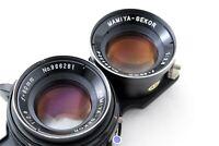 [Excellent+5] Mamiya Sekor 80mm f/2.8 TLR Blue Dot Lens for C330 C220 JAPAN #325