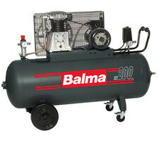 Compressore aria trifase BALMA bicilindrico serbatoio litri 200