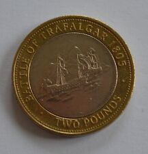 More details for gibraltar battle of trafalgar £2 two pounds choose your year