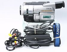 SONY DCR-TRV103 DIGITAL8 HI-8 VIDEO8 8MM CAMCORDER PLAYER CAMERA VIDEO TRANSFER
