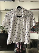 Burberry Shirt White And Floral