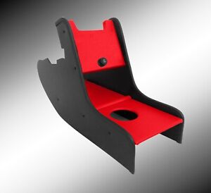 Custom Consoles Centre Console for Classic Mini RED  c/lighter your colour choic