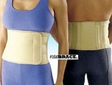Lower Back Support Brace Lumbar Waist Belt Universal by Flexibrace