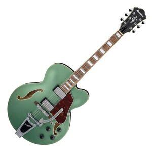 Ibanez AFS75T Metallic Green Flat - Chitarra Semiacustica