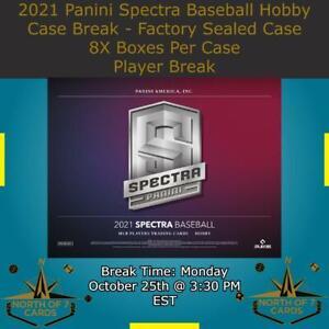 Ryan Mountcastle 2021 Panini Spectra Baseball Hobby 1X Case 8X Boxes Break #1