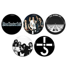 5x Blue Oyster Cult Band Rock 25mm / 1 Inch D Pin Button Badges