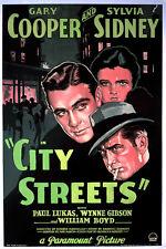 City Streets - 1931 - Gary Cooper Sylvia Sidney Mamoulian Pre-Code Film Noir DVD