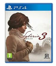 Syberia 3 Playstation 4 PS4 **FREE UK POSTAGE!!**