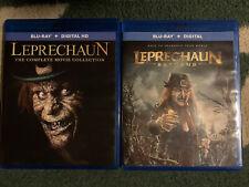 Leprechaun 7-Movie Blu-Ray And Leprechaun Returns- No Digital - Discs Untouched