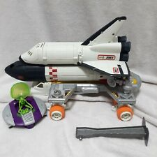 Vintage Matchbox MBX Mega Rig Space Shuttle Mission Alien playset NASA Toys