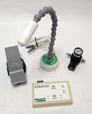 MEECH STATIC 271 FLEXIBLE ION NOZZLE w/233V3 PULSED DC CONTROLLER AND FOOT PEDAL
