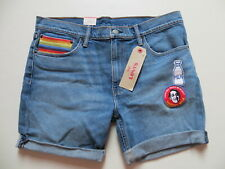 Levis RAINBOW TAB Jeans Shorts, W 36, NEU ! a tribute to activist HARVEY MILK !