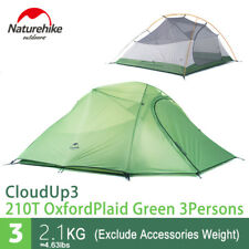 Naturehike Ultralight 3 Person Outdoor Double-Layer Camping Sleeping Tent