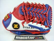 """New ZETT Special Order 12"""" Infield Baseball / Softball Glove Blue Red RHT Gift"""
