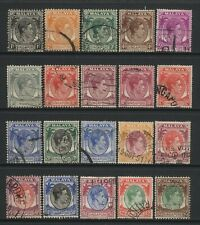 Singapore Collection 20 KGVI Values Used