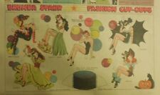 Brenda Starr Sunday with Large Uncut Paper Dolls from 10/25/1942 Full Size Page
