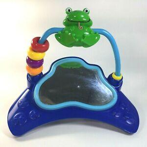Baby Einstein Replacement Frog Mirror Toy Musical Motion Activity Jumper Green