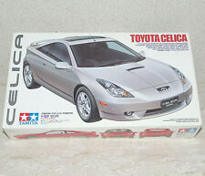 New: Tamiya (24215) Toyota Celica 1/24 Sealed Bags/Instructions/Decal - good box